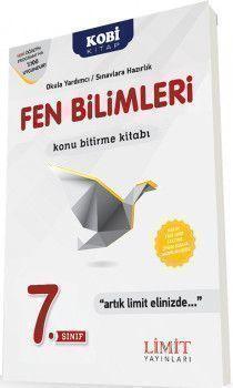 Limit Yayınları 7. Sınıf Fen Bilimleri Konu Bitirme Kitabı