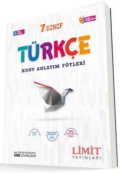 Limit Yayınları 7. Sınıf Türkçe Konu Anlatım Föyleri