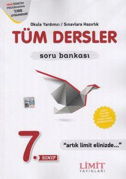 Limit Yayınları 7. Sınıf Tüm Dersler Soru Bankası