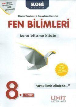 Limit Yayınları 8. Sınıf Fen Bilimleri Konu Bitirme Kitabı
