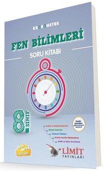 Limit Yayınları 8. Sınıf Kronometre Fen Bilimleri Soru Bankası