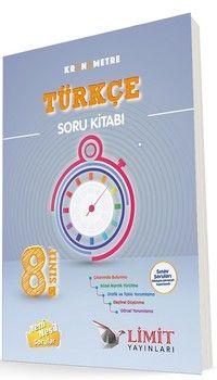 Limit Yayınları 8. Sınıf Kronometre Türkçe Soru Bankası