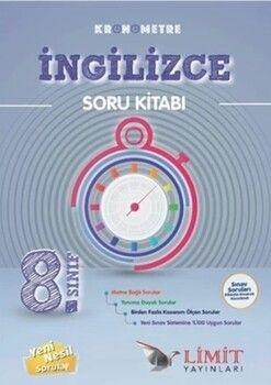 Limit Yayınları 8. Sınıf Kronometre İngilizce Soru Bankası