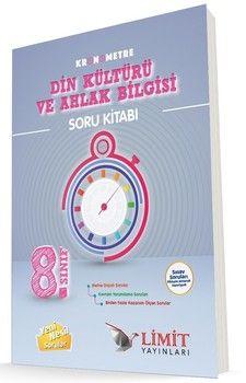 Limit Yayınları 8. Sınıf Kronometre Din Kültürü ve Ahlak Bilgisi Soru Bankası