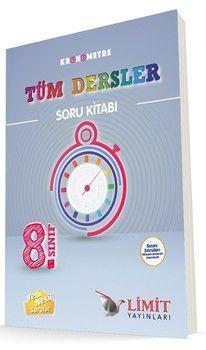 Limit Yayınları 8. Sınıf Kronometre Tüm Dersler Soru Bankası