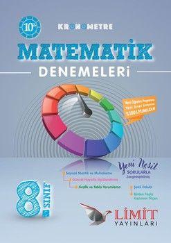 Limit Yayınları 8. Sınıf Kronometre Matematik 10 Deneme