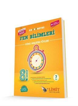 Limit Yayınları 8. Sınıf LGS Fen Bilimleri Kronometre Konu Anlatım Föyleri