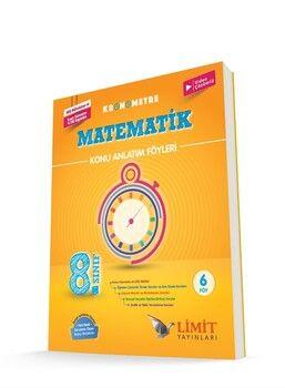 Limit Yayınları 8. Sınıf LGS Matematik Kronometre Konu Anlatım Föyleri