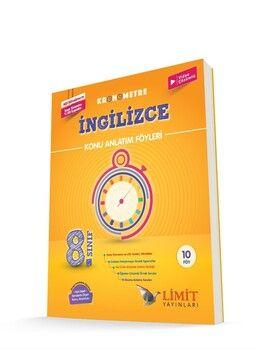 Limit Yayınları 8. Sınıf LGS İngilizce Kronometre Konu Anlatım Föyleri