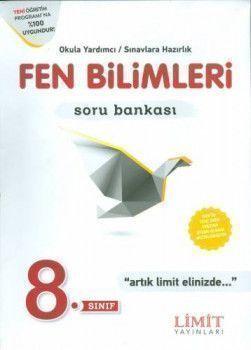 Limit Yayınları 8. Sınıf Fen Bilimleri Soru Bankası