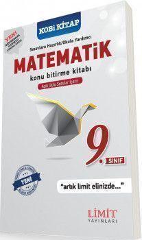 Limit Yayınları 9. Sınıf Matematik Konu Bitirme Kitabı