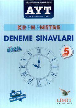 Limit Yayınları AYT Kronometre Deneme Sınavları