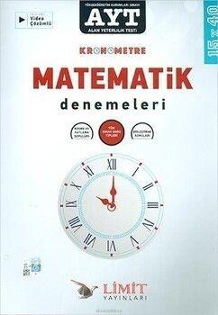Limit Yayınları AYT Matematik Kronometre Denemeleri