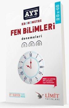 Limit Yayınları AYT Fen Bilimleri 20 x 40 Özel Denemeleri