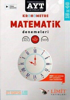 Limit Yayınları AYT Matematik Özel 15 x 40 Kronometre Denemeleri