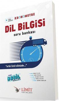 Limit Yayınları Dil Bilgisi Kronometre Soru Bankası