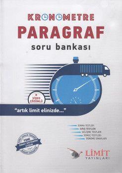 Limit Yayınları Kronometre Paragraf Soru Bankası