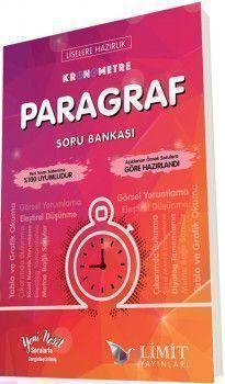 Limit Yayınları Liselere Hazırlık Kronometre Paragraf Soru Bankası