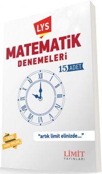Limit Yayınları LYS Matematik Denemeleri 15 Adet