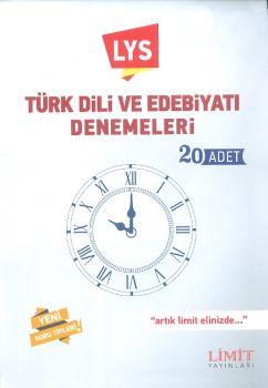 Limit Yayınları LYS Türk Dili ve Edebiyatı Denemeleri 20 Adet