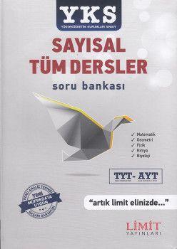 Limit Yayınları TYT AYT Sayısal Tüm Dersler Soru Bankası