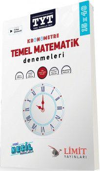 Limit Yayınları TYT Kronometre Temel Matematik Denemeleri