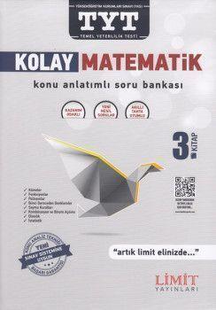Limit Yayınları TYT Kolay Matematik Konu Anlatımlı Soru Bankası 3. Kitap