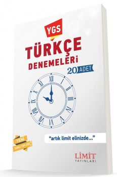 Limit Yayınları YGS Türkçe 20 Deneme