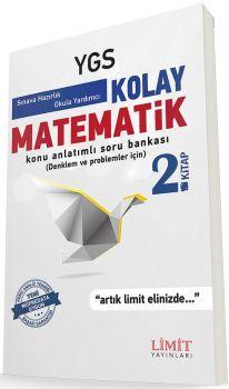 Limit Yayınları YGS Kolay Matematik Problemler 2. Kitap