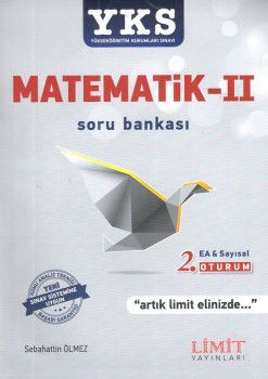 Limit Yayınları YKS 2. Oturum Eşit Ağırlık Sayısal Matematik 2 Soru Bankası