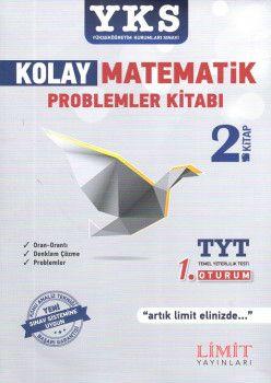 Limit Yayınları YKS 1. Oturum TYT Kolay Matematik 2. Kitap Problemler Kitabı