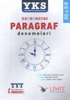 Limit Yayınları YKS 1. Oturum TYT Kronometre Paragraf Denemeleri 30X30
