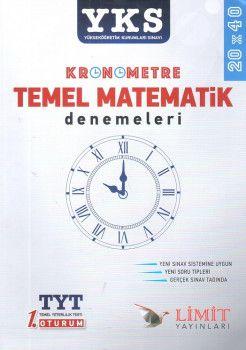 Limit Yayınları YKS 1 . Oturum TYT Temel Matematik Denemeleri 20X40
