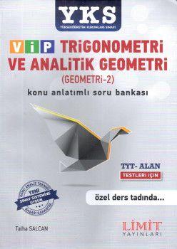 Limit Yayınları YKS 1. ve 2. Oturum Alan VİP Trigonometri ve Analitik Geometri Konu Anlatımlı Soru Bankası