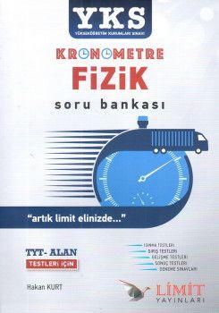 Limit Yayınları YKS 1. ve 2. Oturum TYT Kronometre Alan Fizik Soru Bankası