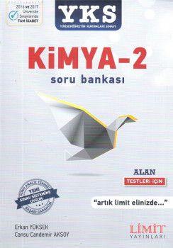 Limit Yayınları YKS 2. Oturum Kimya 2 Soru Bankası