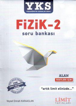 Limit Yayınları YKS 2. Oturum Alan Fizik 2 Soru Bankası