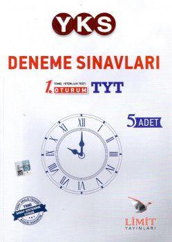 Limit Yayınları YKS 1. Oturum TYT 5 li Deneme Seti