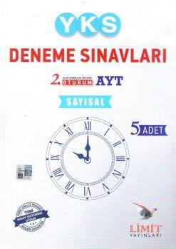 Limit Yayınları YKS 2. Oturum AYT Sayısal 5 li Deneme Seti
