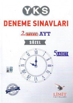 Limit Yayınları YKS. 2. Oturum AYT Sözel 5 li Deneme Seti