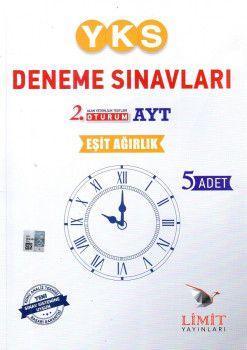Limit Yayınları YKS. 2. Oturum AYT Eşit Ağırlık 5 li Deneme Seti