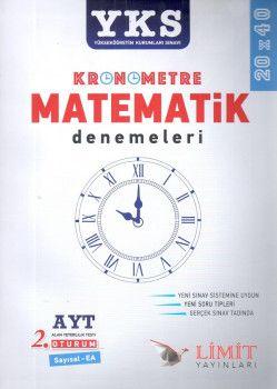 Limit Yayınları YKS 2. Oturum AYT Kronometre Matematik Sayısal Eşit Ağırlık 20x40 Denemeleri