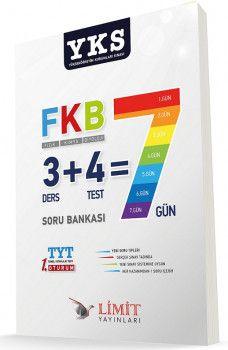 Limit Yayınları YKS 1. Oturum TYT Fizik Kimya Biyoloji Soru Bankası