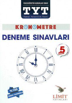 Limit Yayınları YKS 1. Oturum TYT Kronometre 5 Deneme