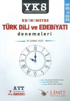 Limit Yayınları YKS 2. Oturum AYT Kronometre Türk Dili ve Edebiyatı 20x24 Deneme