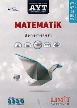 Limit YayınlarıAYT Matematik 15x40 Video Çözümlü Denemeleri