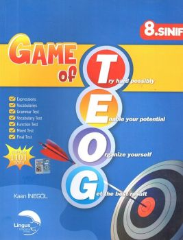 Lingus Education Group 8. Sınıf Game Of TEOG Soru Bankası
