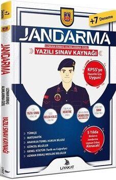Liyakat Yayınları Jandarma Uzman Erbaş Yazılı Sınava Hazırlık Kitabı
