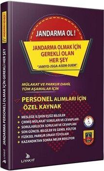 Liyakat Yayınları JandarmaOl Son Jandarma Alımı için Özel Kaynak Mülakat ve Parkur