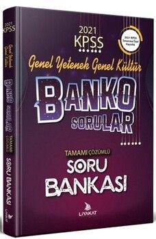 Liyakat Yayınları KPSS Banko Genel Yetenek Genel Kültür Özel Hazırlık Tamamı Çözümlü Yeni Nesil Soru Bankası